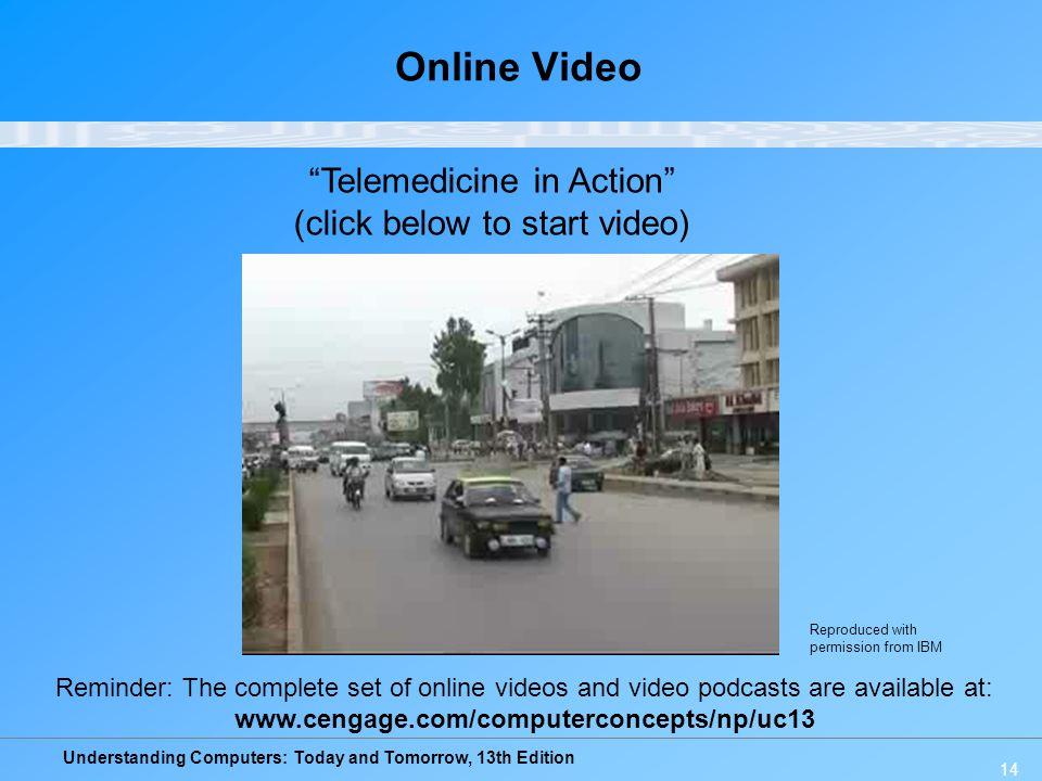 Online Video Telemedicine in Action (click below to start video)