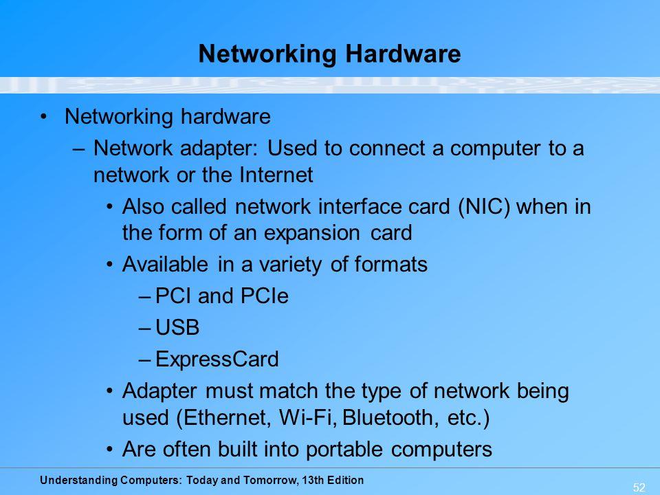 Networking Hardware Networking hardware