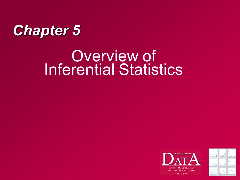 Overview of Inferential Statistics