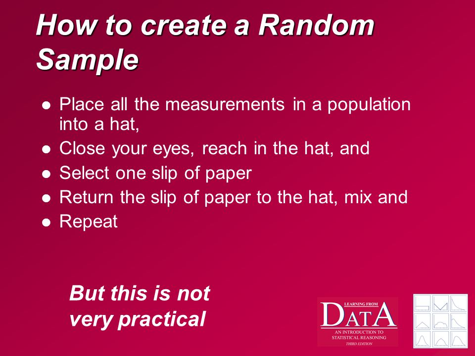 How to create a Random Sample