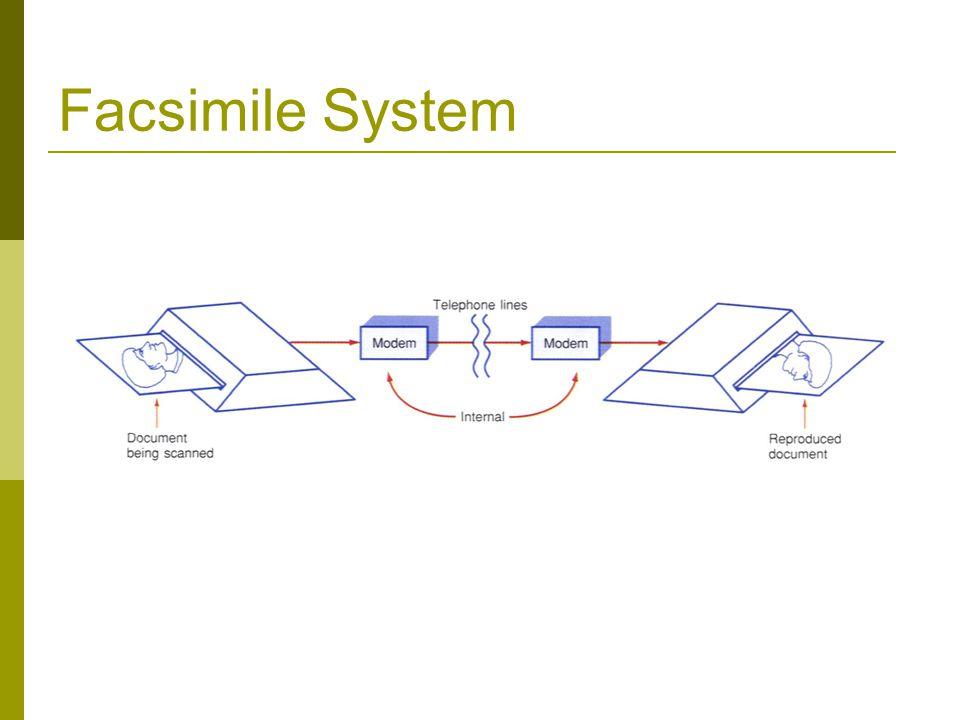 Facsimile System