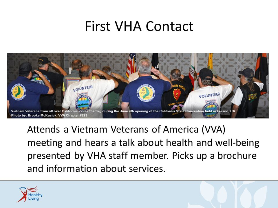 First VHA Contact