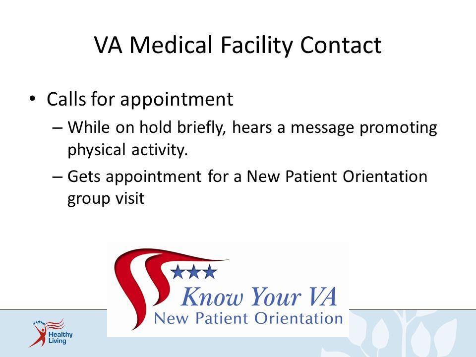 VA Medical Facility Contact