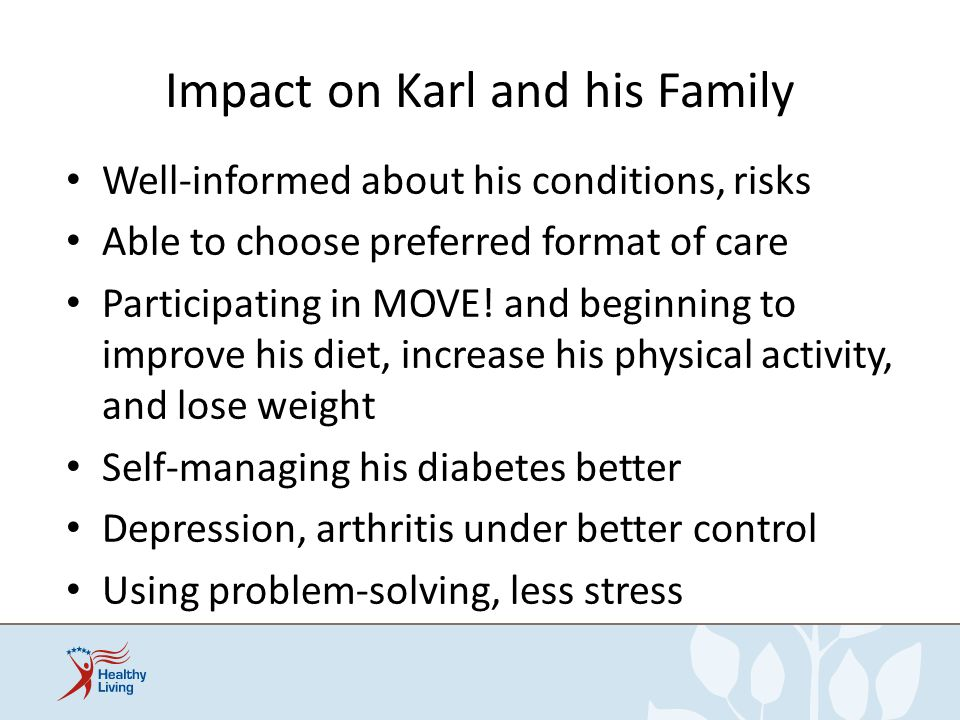 Impact on Karl and his Family