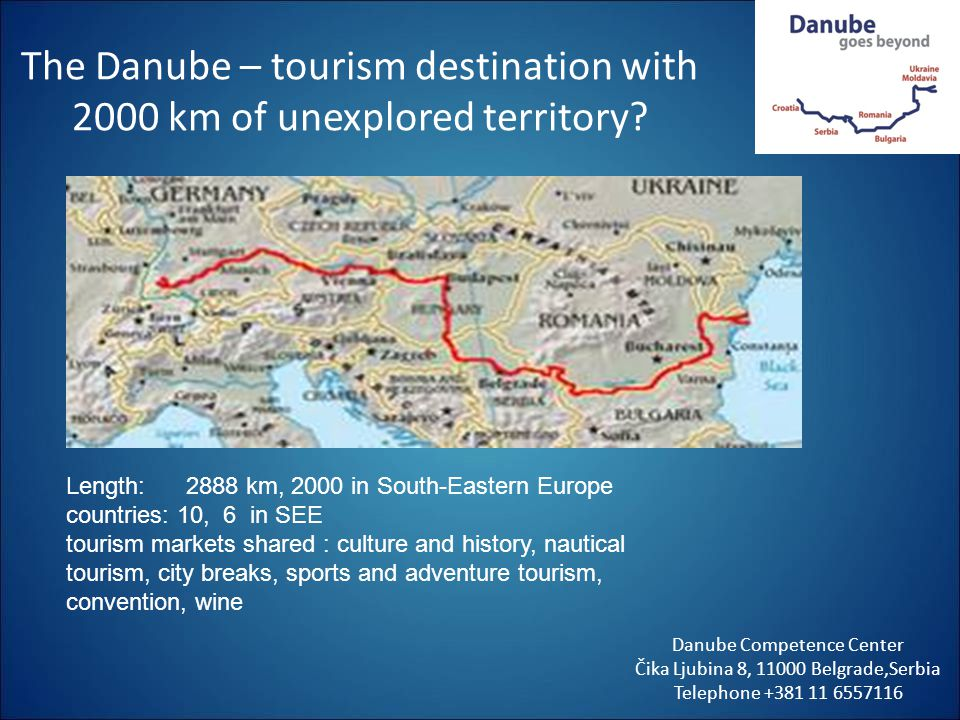 The Danube – tourism destination with 2000 km of unexplored territory