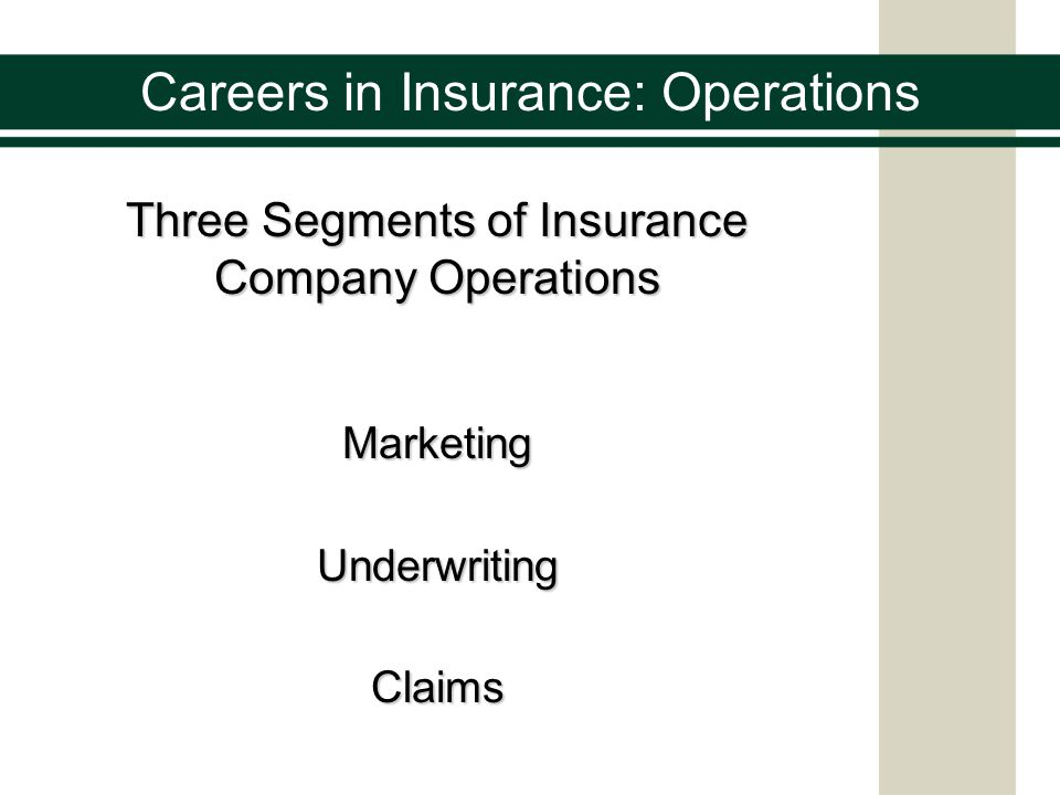 Operations Management in Insurance Sector