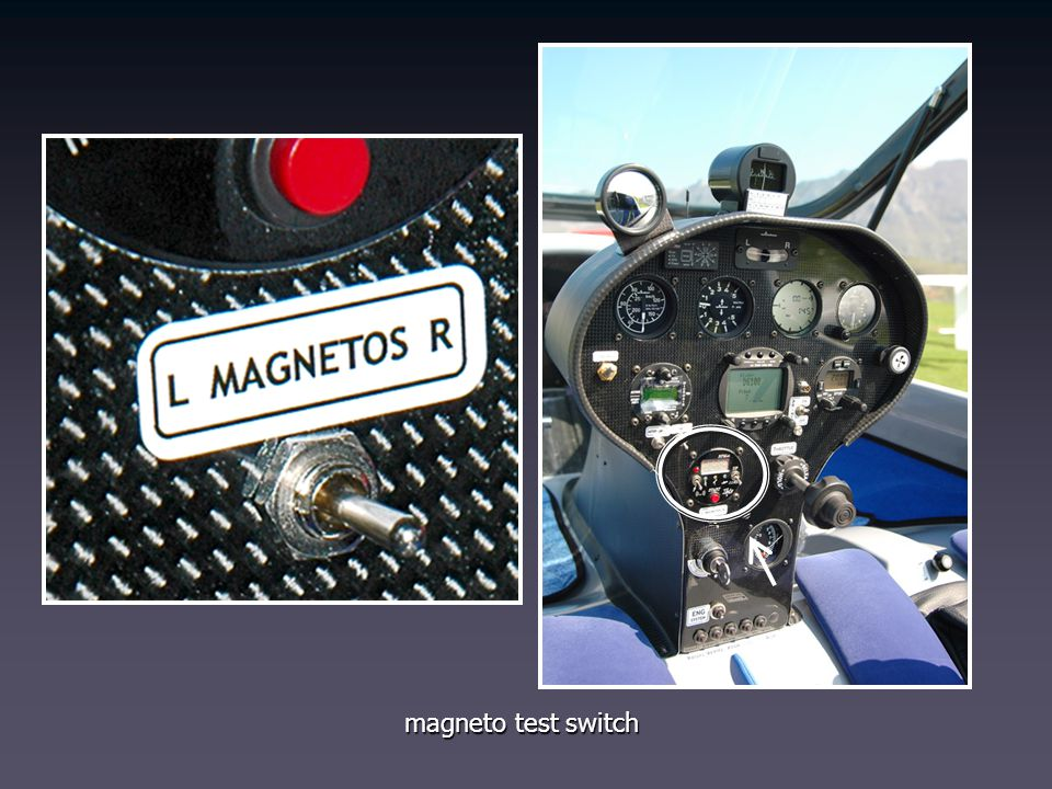 magneto test switch