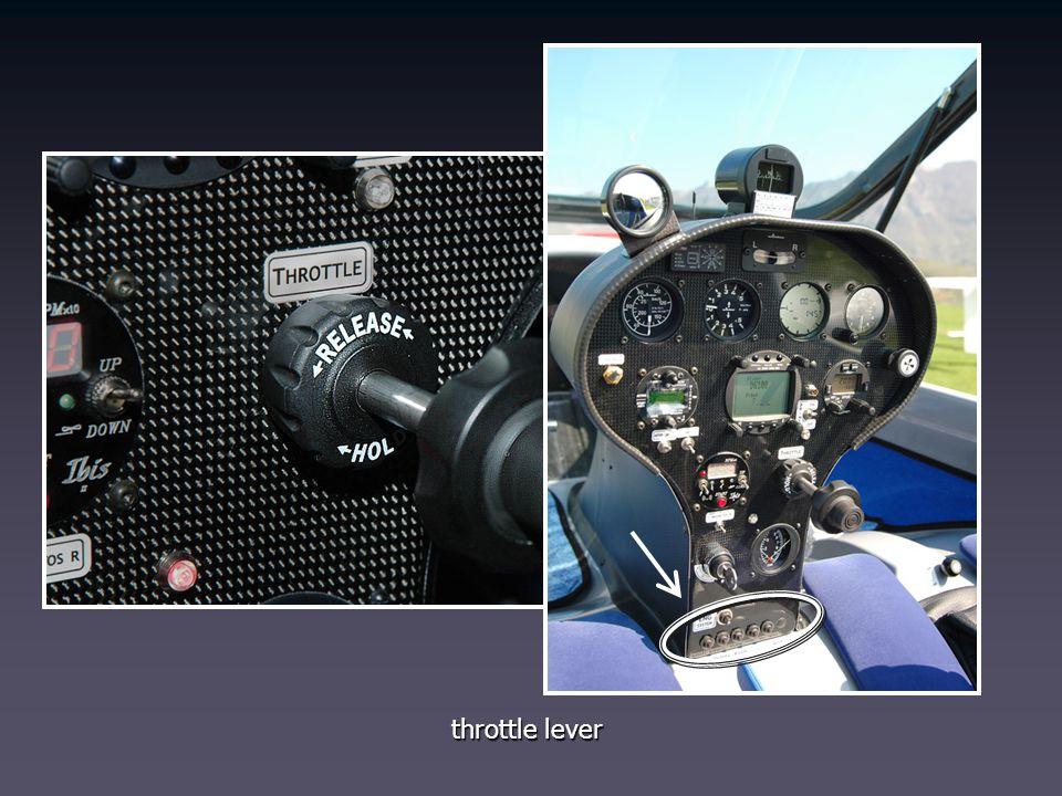 throttle lever