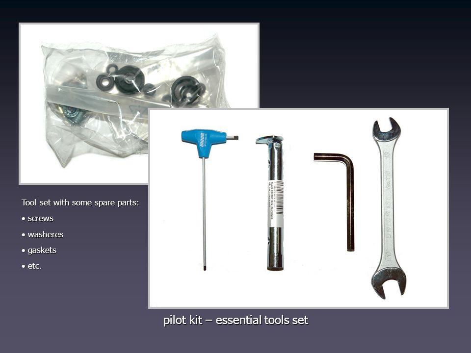 pilot kit – essential tools set
