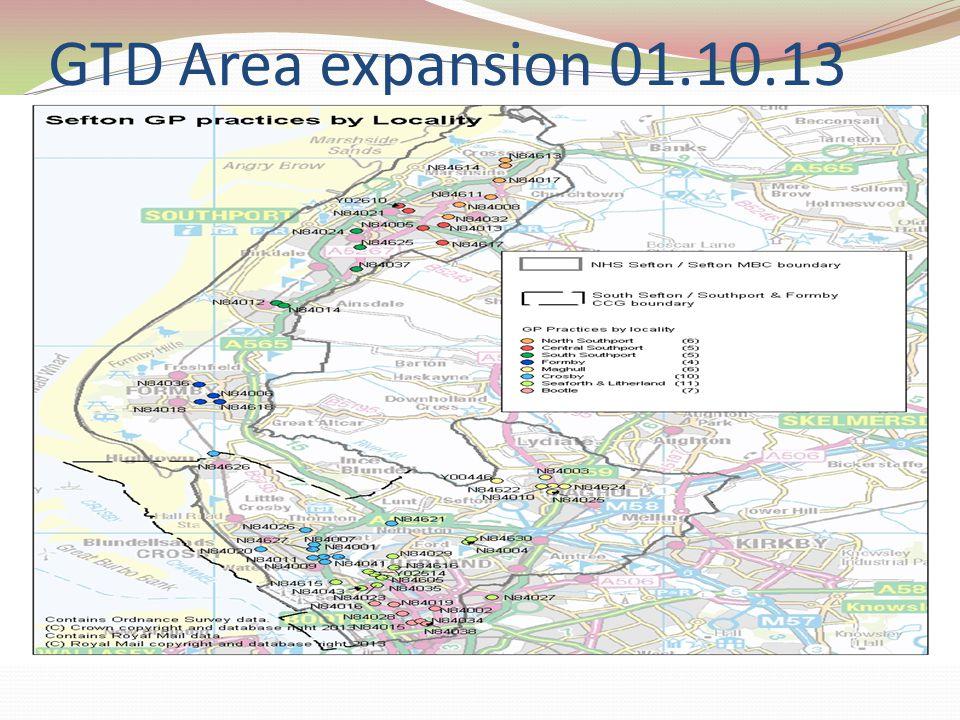 GTD Area expansion 01.10.13