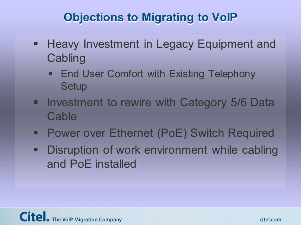 Objections to Migrating to VoIP