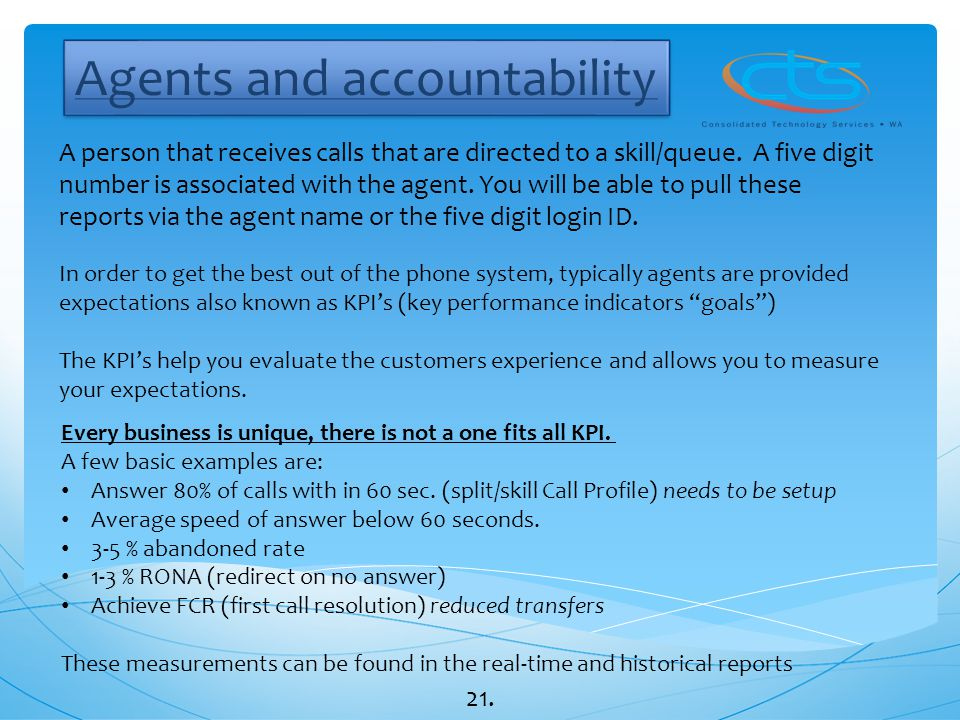 Agents and accountability