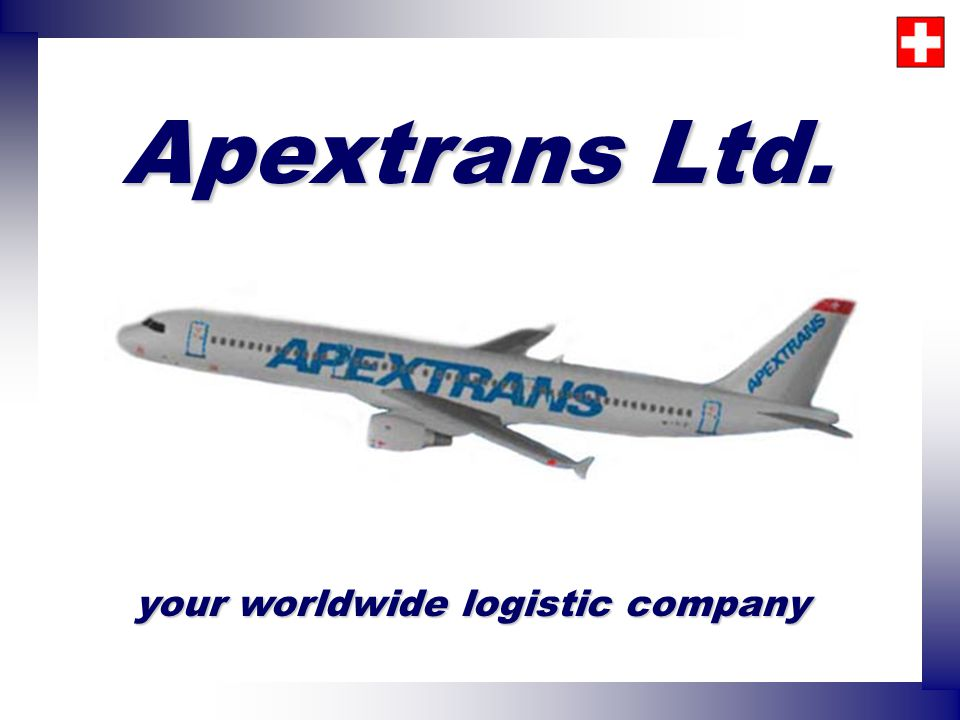 your worldwide logistic company