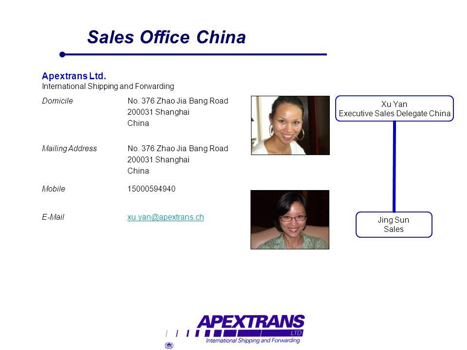 Sales Office China Apextrans Ltd.