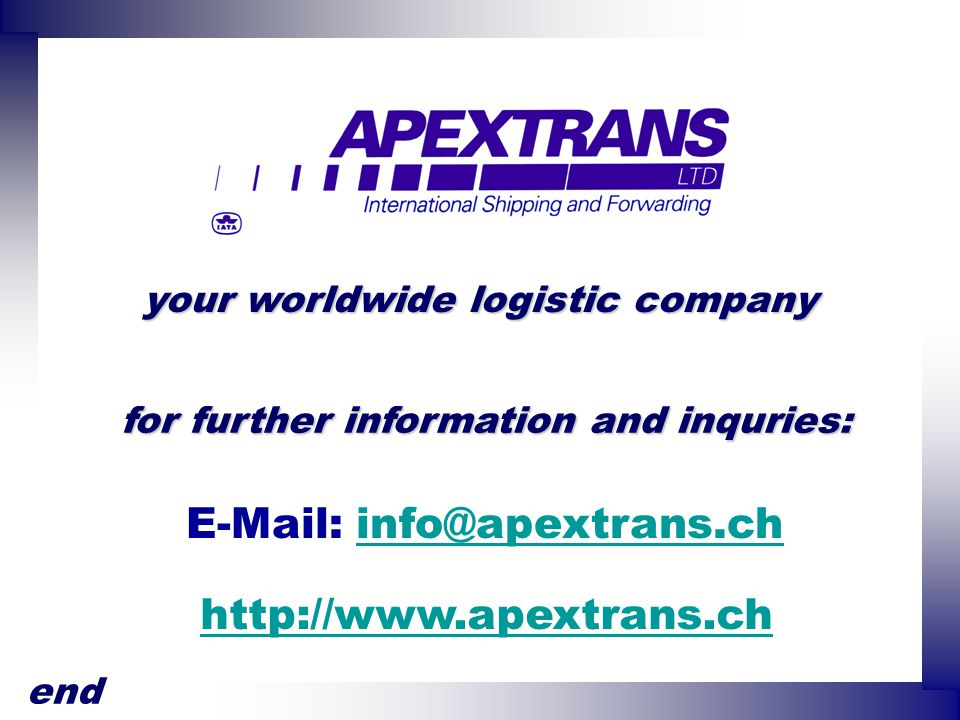 E-Mail: info@apextrans.ch