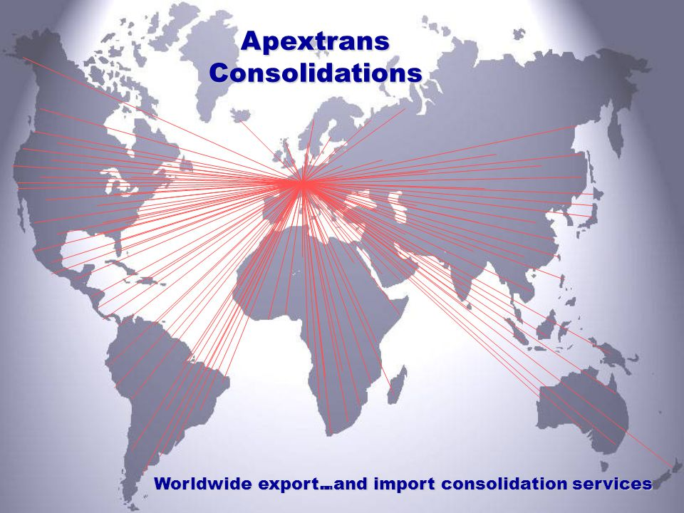 ..and import consolidation services