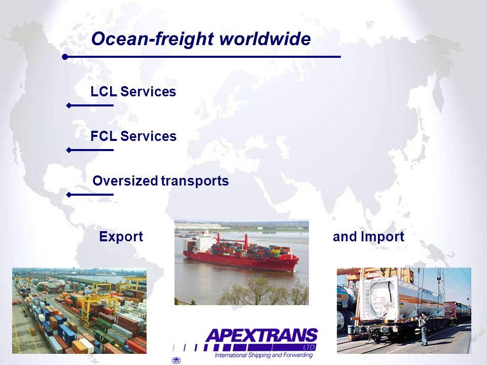 Ocean-freight worldwide