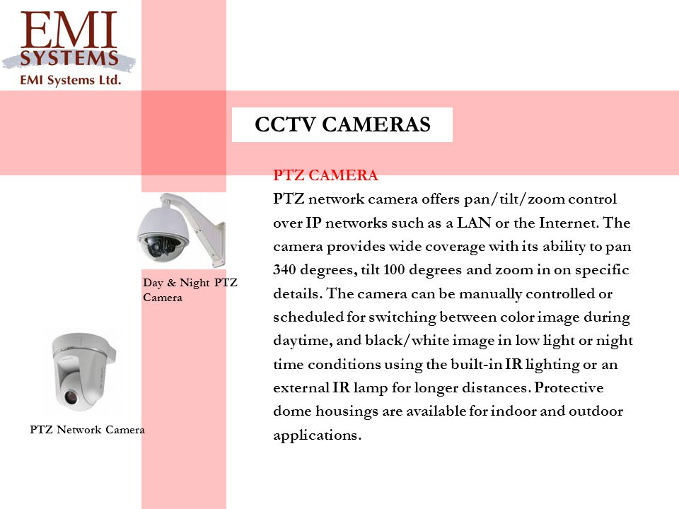CCTV CAMERAS PTZ CAMERA