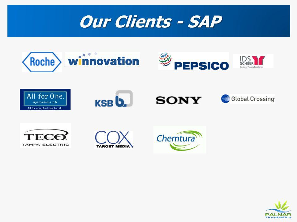 Our Clients - SAP