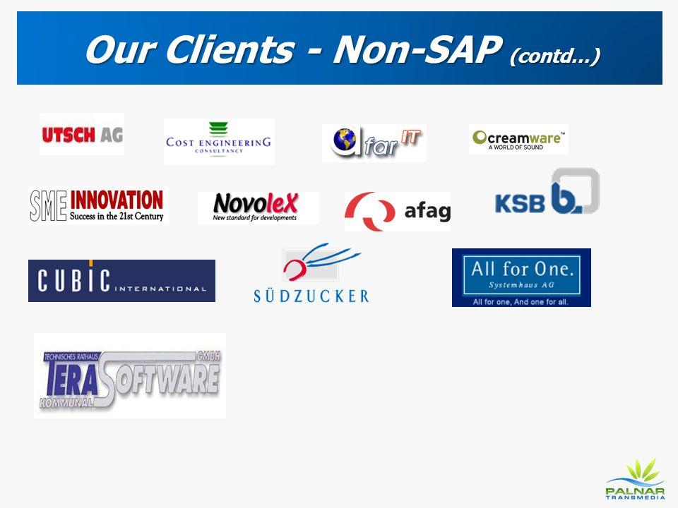 Our Clients - Non-SAP (contd…)