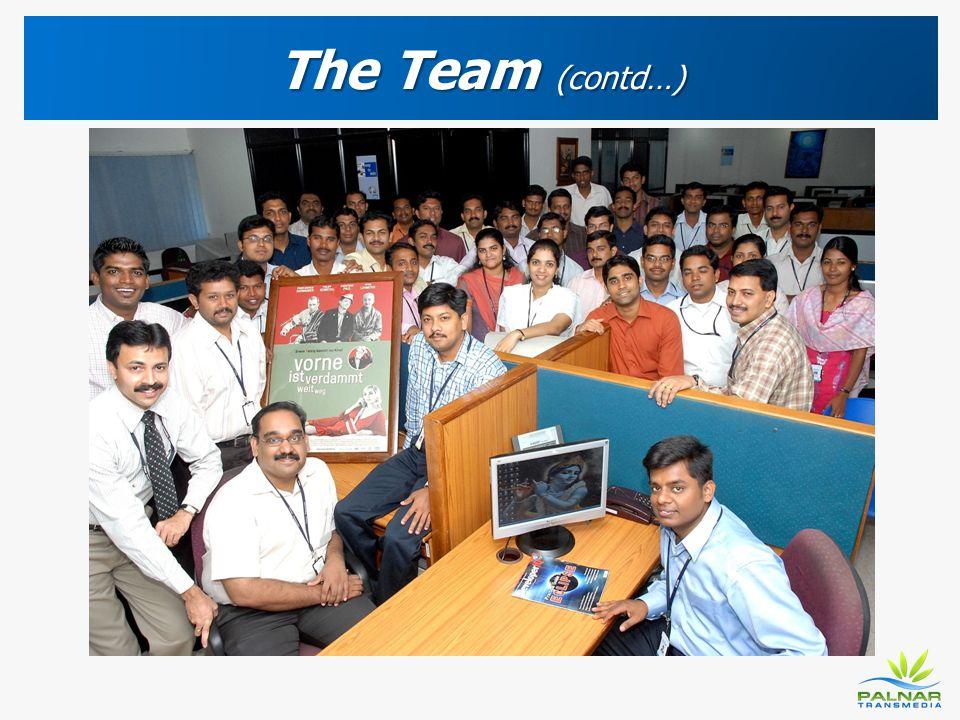 The Team (contd…)