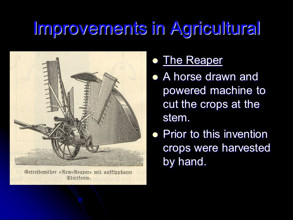 Improvements in Agricultural