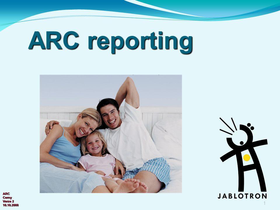 ARC reporting ARC Cerny Verze 2 10.10.2008