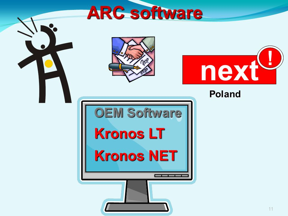 ARC software ! next Poland OEM Software Kronos LT Kronos NET