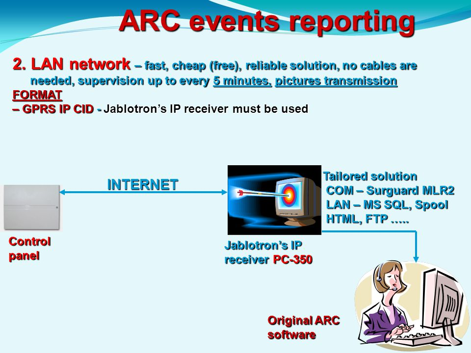 ARC events reporting