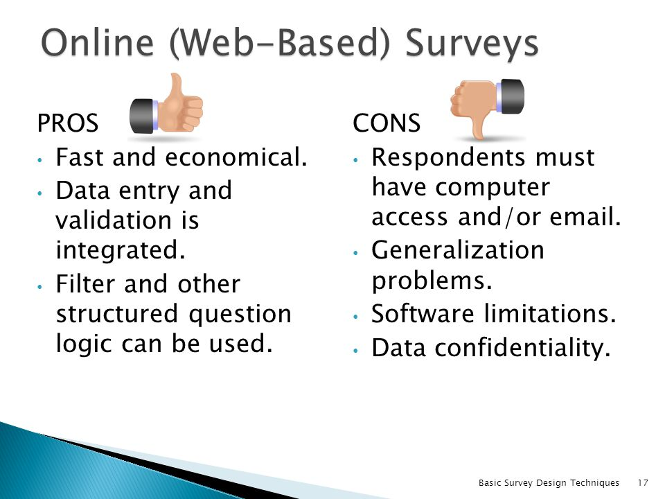 Online (Web-Based) Surveys