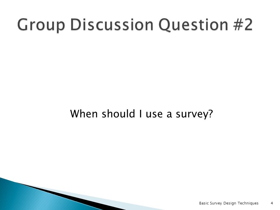 Group Discussion Question #2