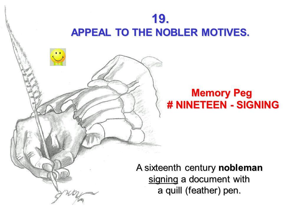 APPEAL TO THE NOBLER MOTIVES.