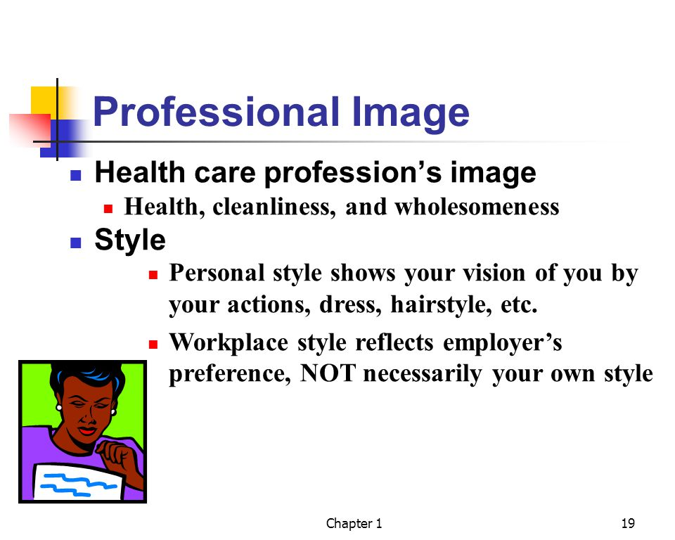 Professional Image Health care profession's image Style