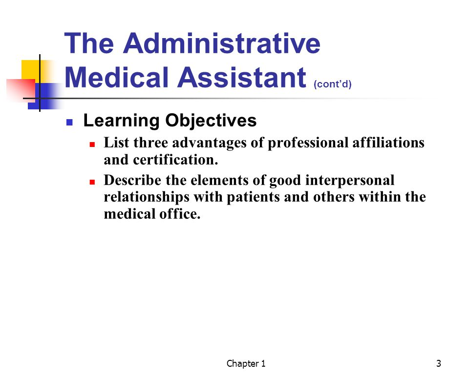 THE ADMINISTRATIVE MEDICAL ASSISTANT - ppt video online download