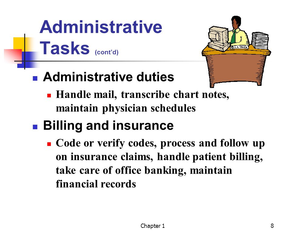 The Administrative Medical Assistant Ppt Video Online