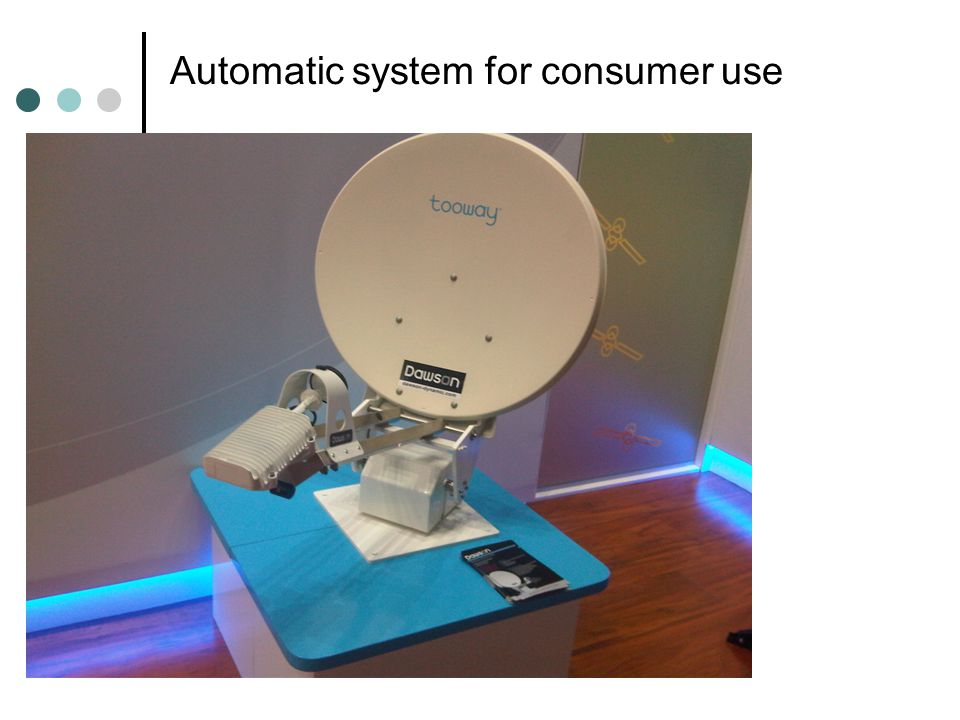 Automatic system for consumer use