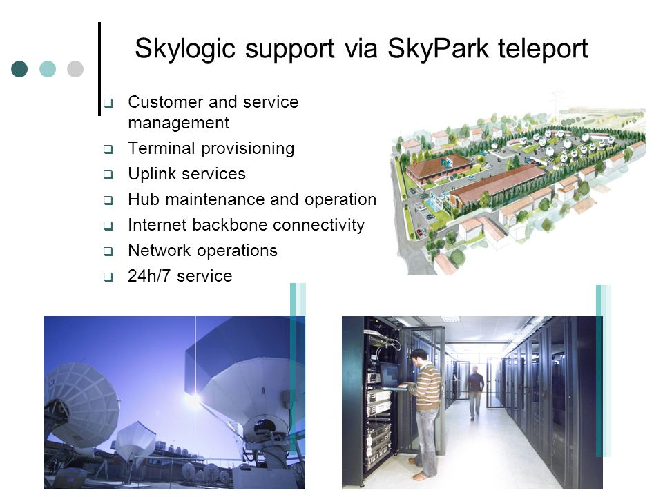 Skylogic support via SkyPark teleport