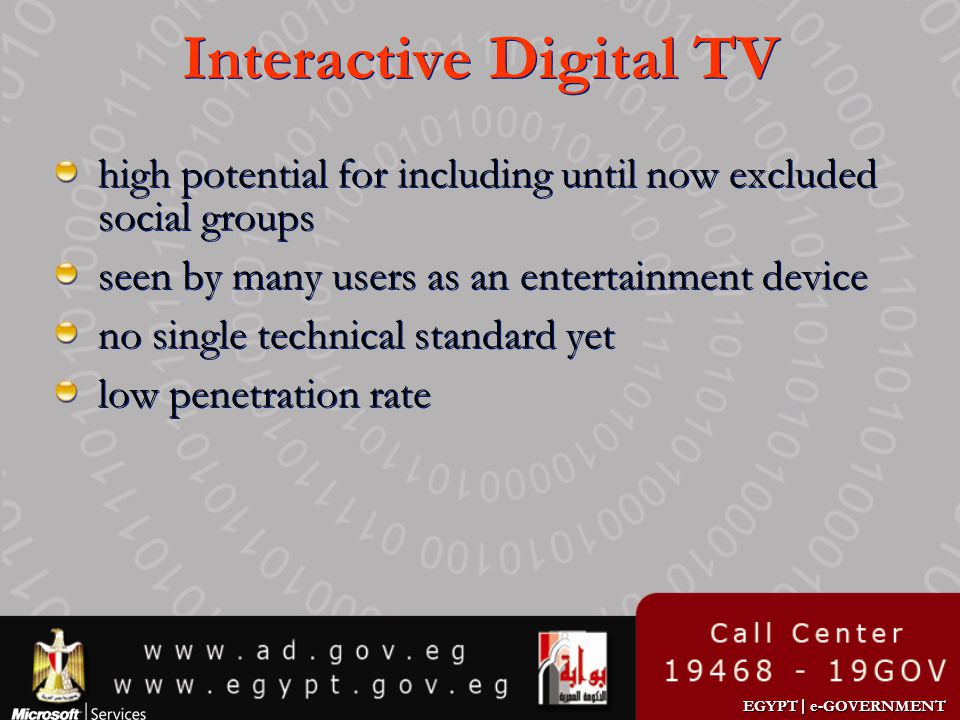 Interactive Digital TV