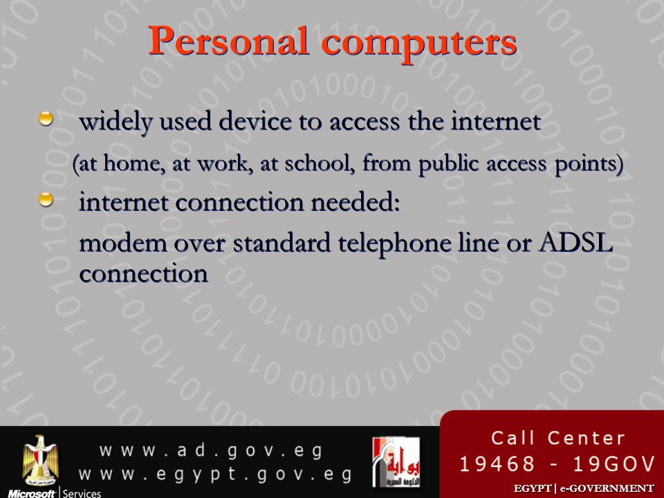 Personal computers widely used device to access the internet
