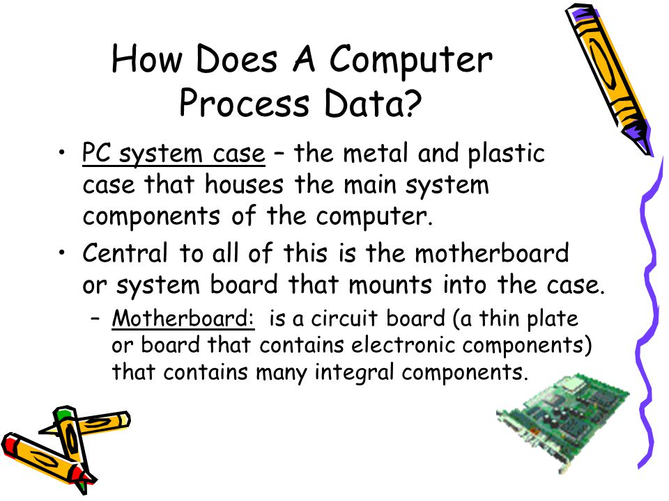 How Does A Computer Process Data