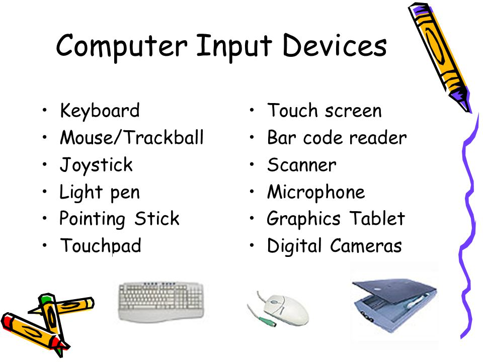 Computer Input Devices