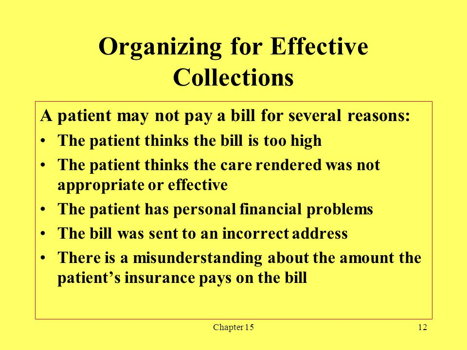 Organizing for Effective Collections