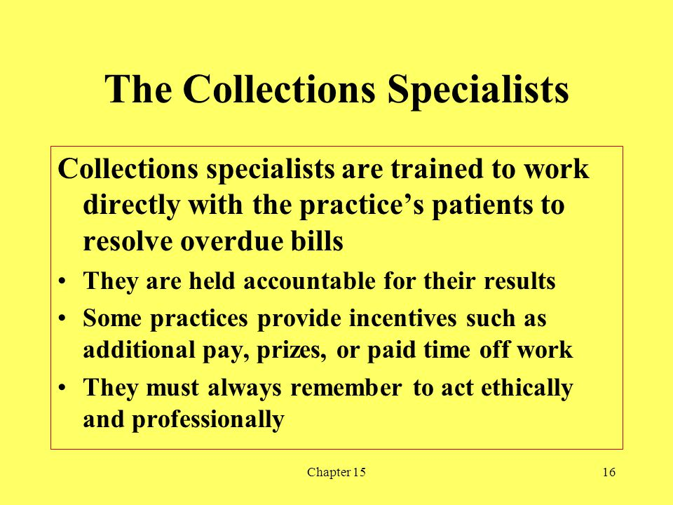 The Collections Specialists