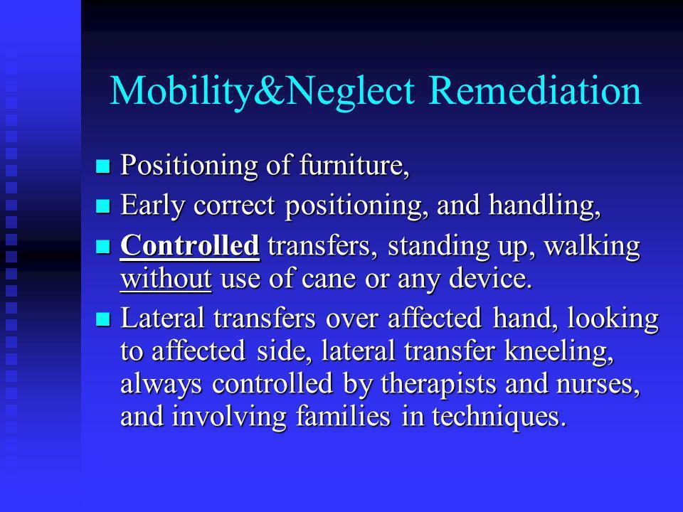Mobility&Neglect Remediation