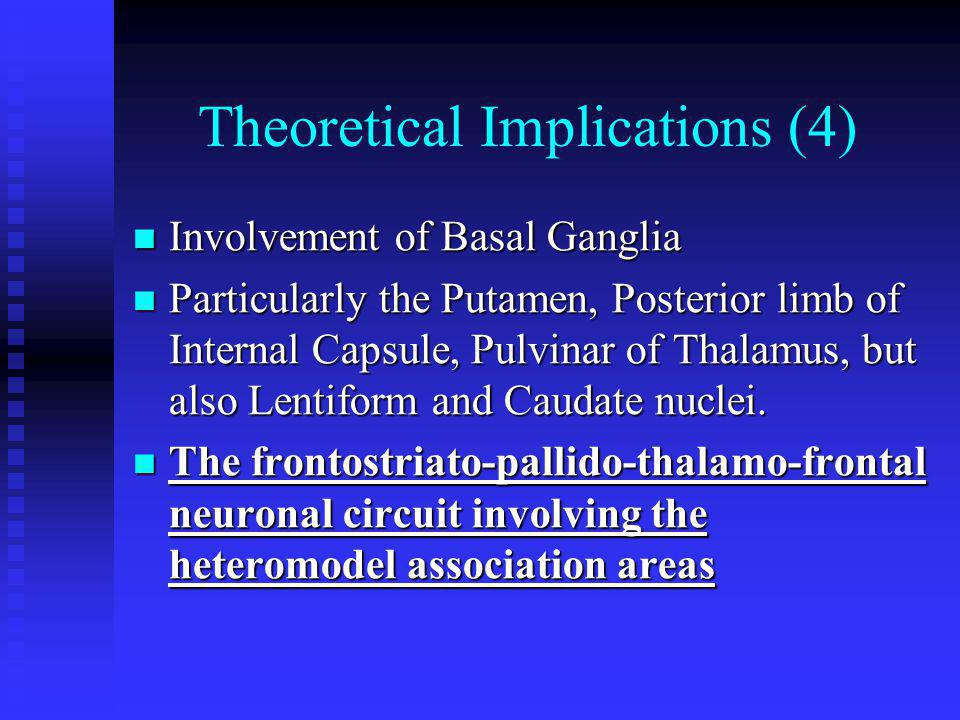 Theoretical Implications (4)