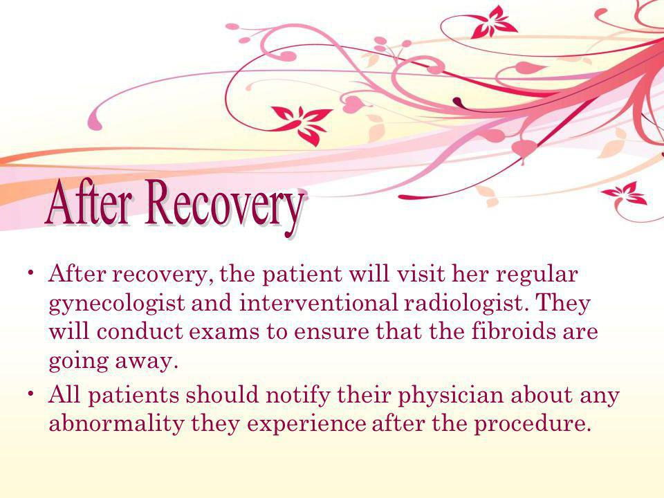 After Recovery