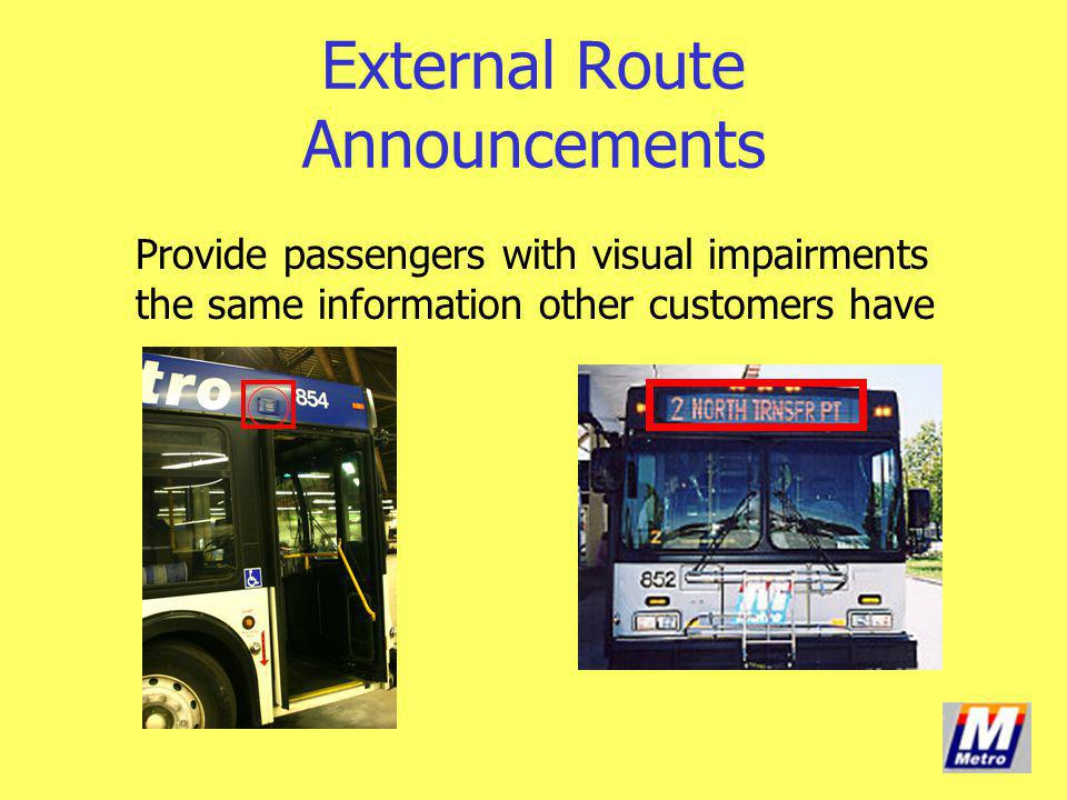 External Route Announcements