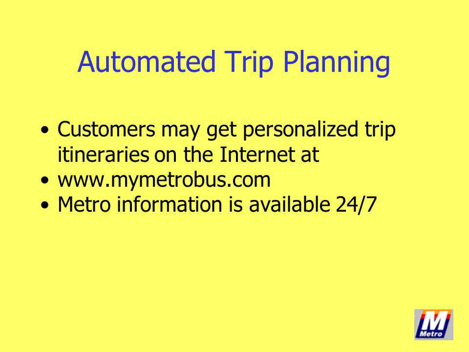 Automated Trip Planning