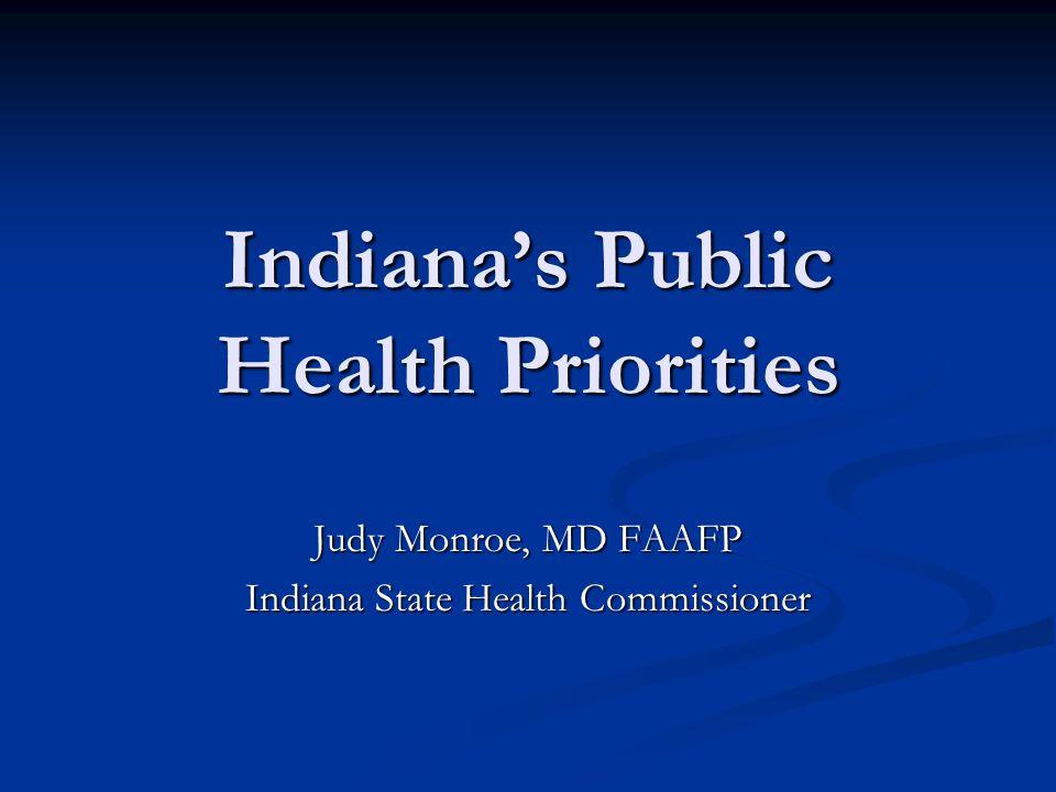 Indiana's Public Health Priorities