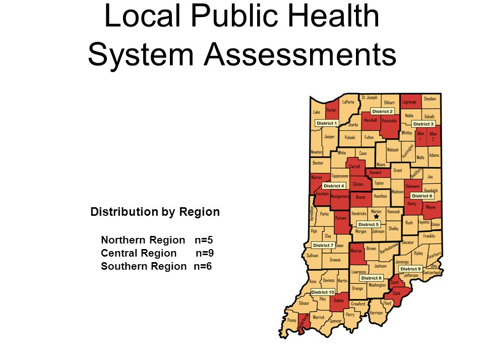 Local Public Health System Assessments